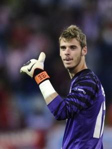 Atletico Madrid's goalkeeper David de Ge