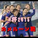 【速報W杯】なでしこジャパン カメルーン戦動画・TV放送・結果